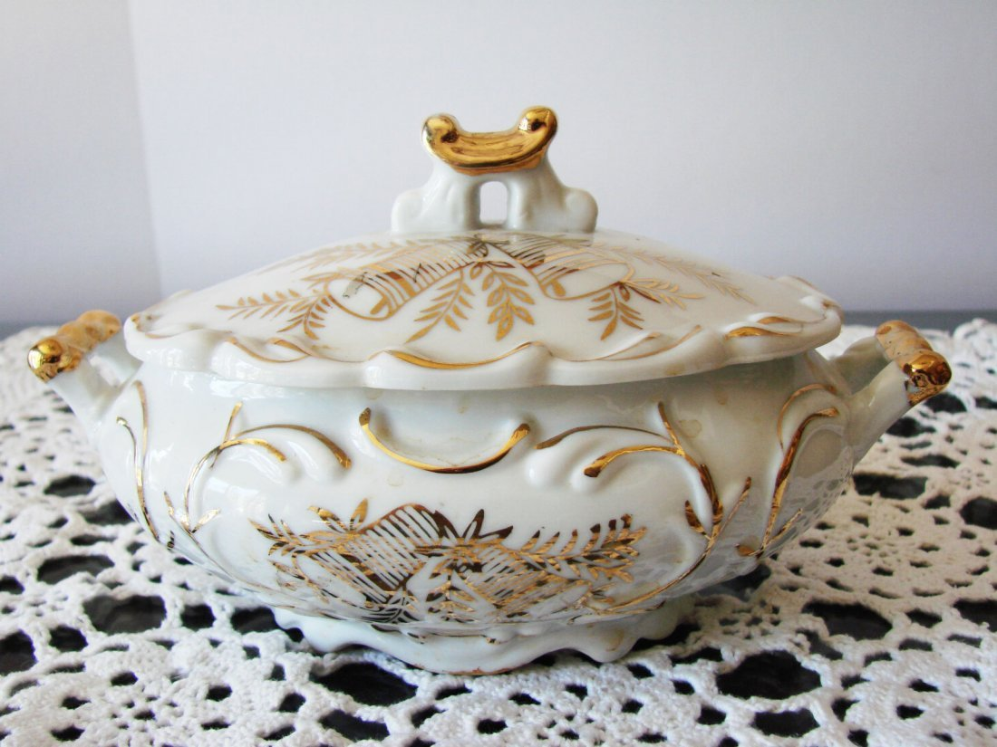Ceramic Golden norcrest fine china - 4