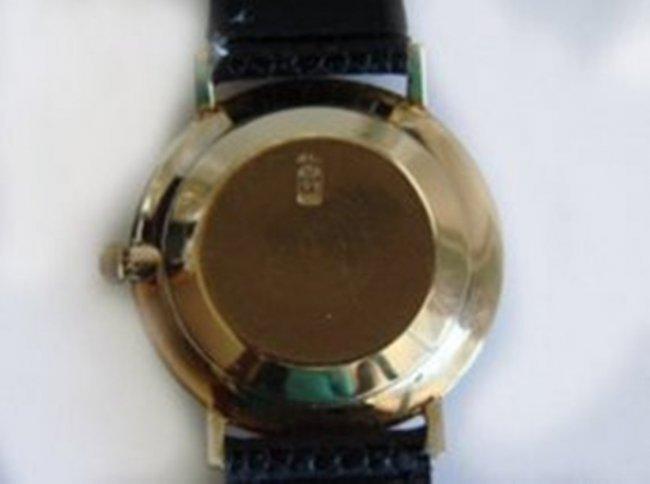 Vintage Jules Jurgensen 14k Gold Mens Wrist Watch - 3