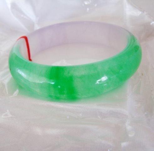 Natural Jade Bangle JBA-B Size: 7.5