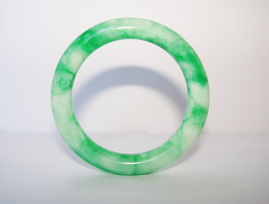 Natural Jade Bangle Grade A Inner Diameter :56mm - 3