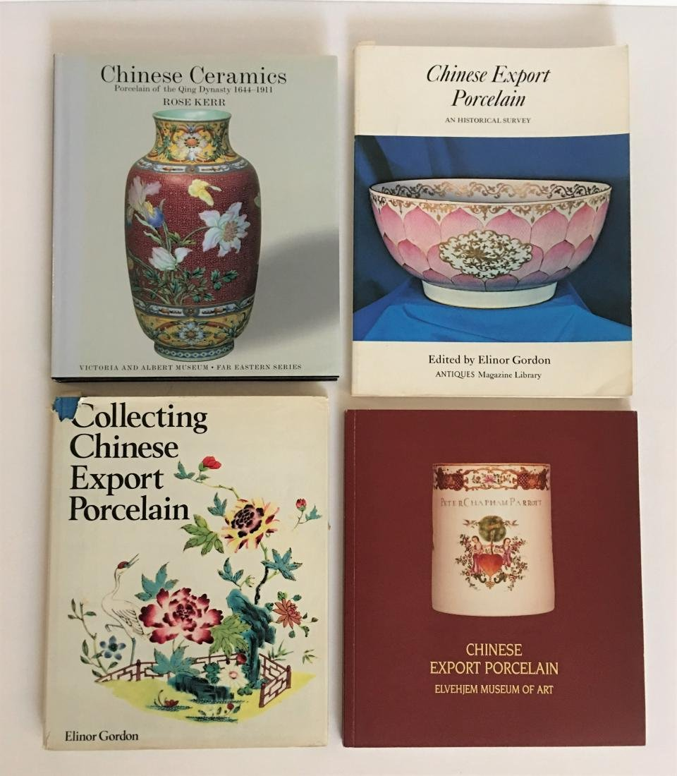 Book - A Lot Four Chinese Porcelain and Export