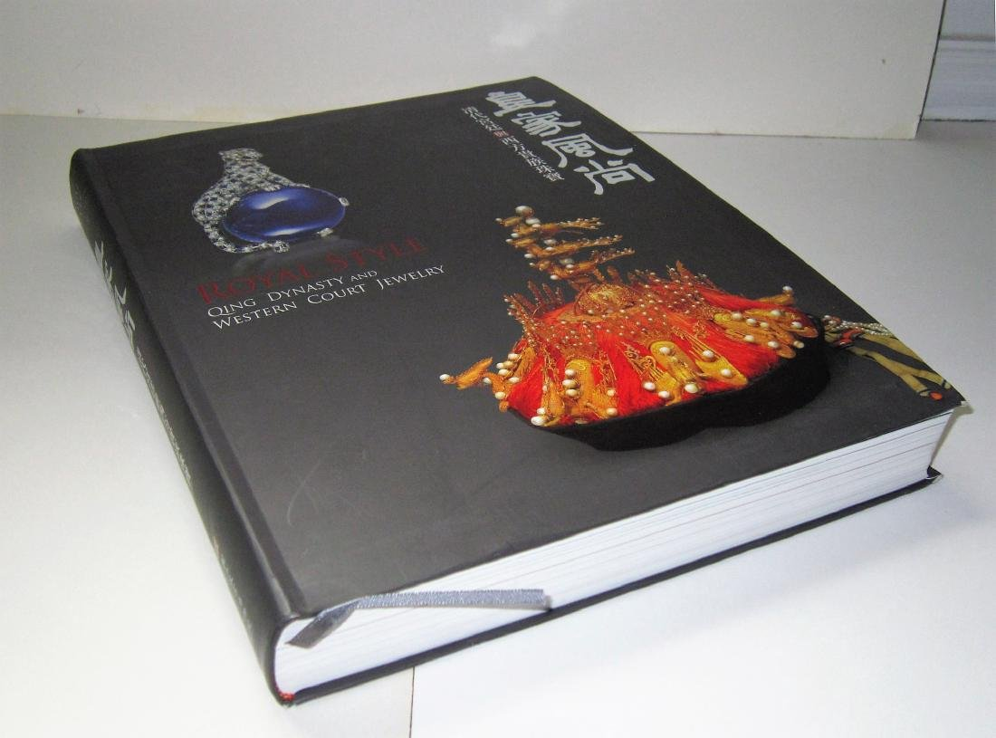 Book - Qing Dynasty and Western Court Jewelry
