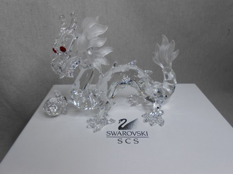 249: SWAROVSKI CRYSTAL DRAGON