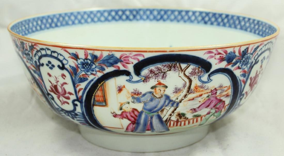 A Chinese Mandarin punch bowl - 2