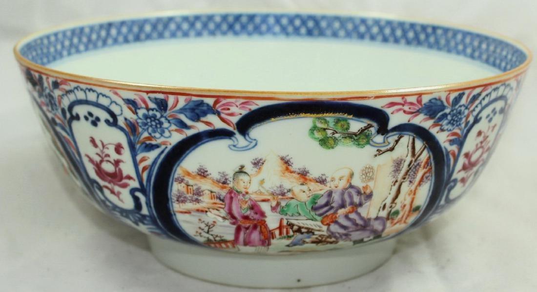 A Chinese Mandarin punch bowl - 4