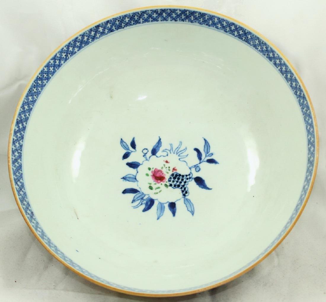 A Chinese Mandarin punch bowl - 5