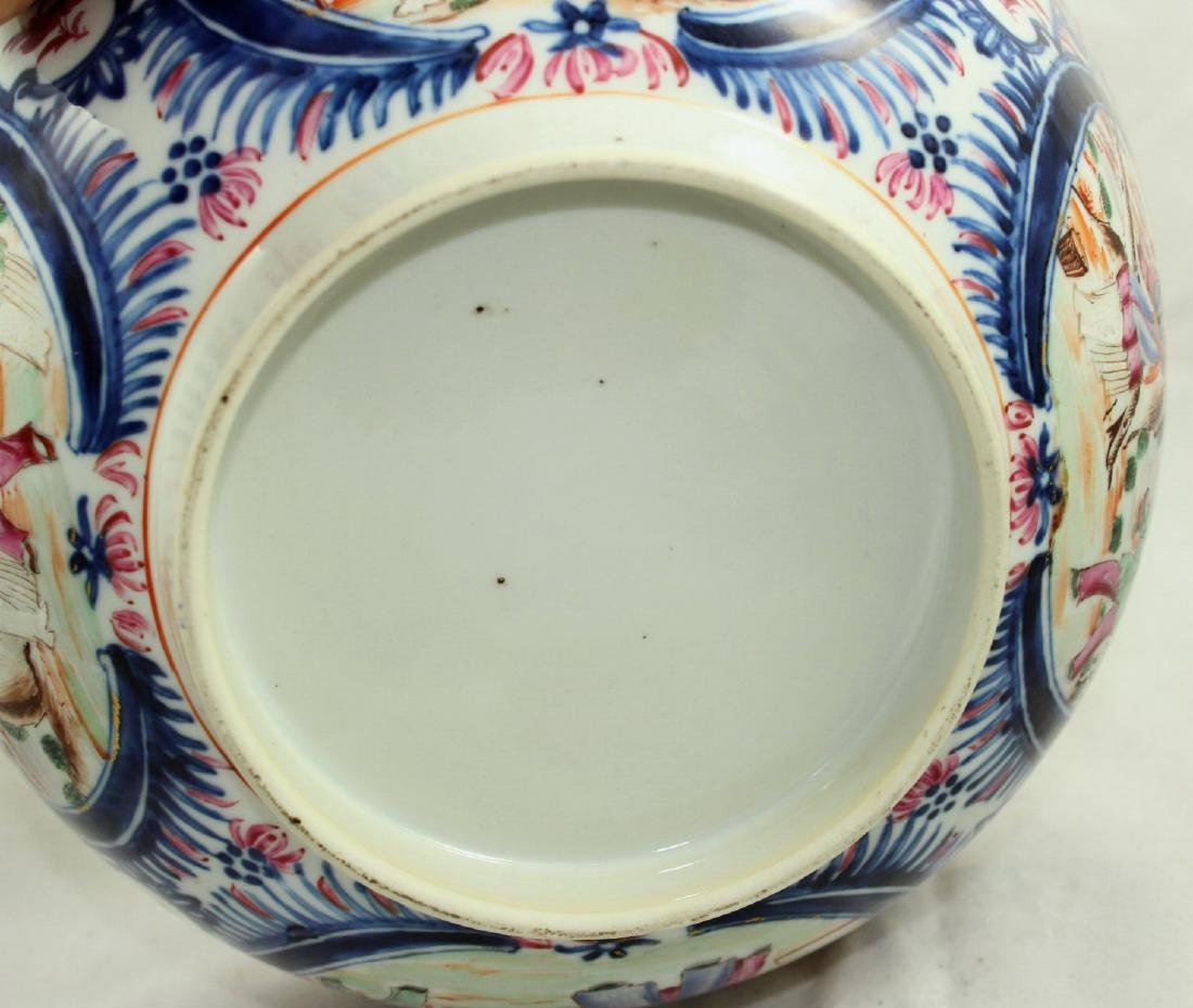 A Chinese Mandarin punch bowl - 6