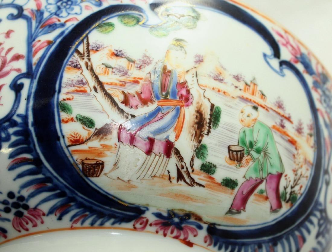 A Chinese Mandarin punch bowl - 9