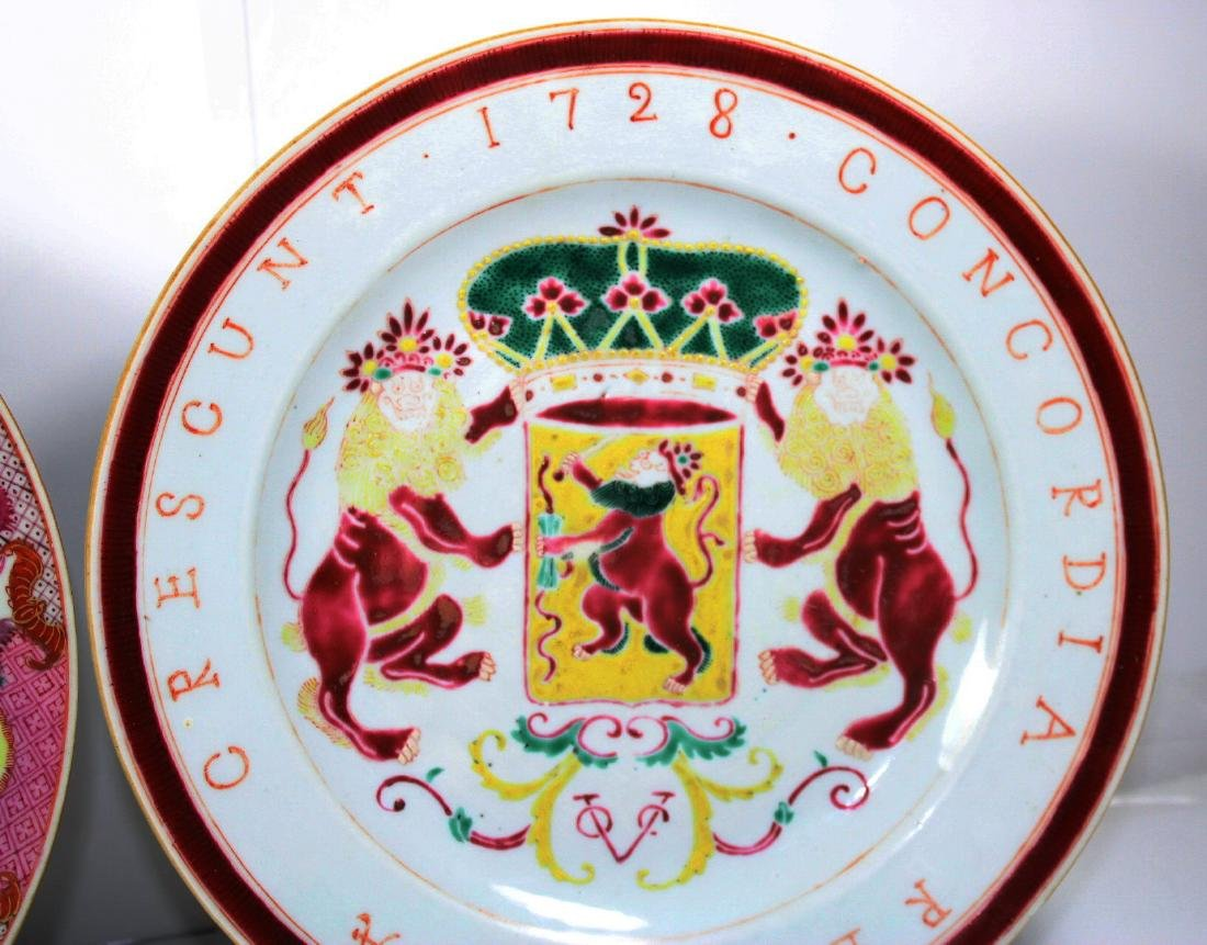 TWO CHINESE EXPORT PORCELAIN PLATES (2X) - 3
