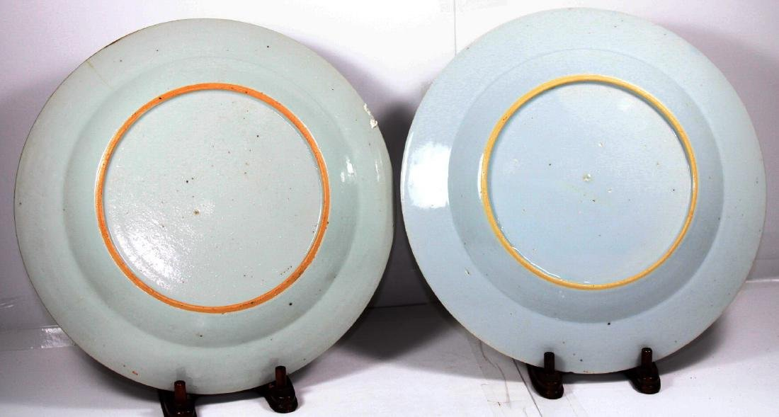 TWO CHINESE EXPORT PORCELAIN PLATES (2X) - 4