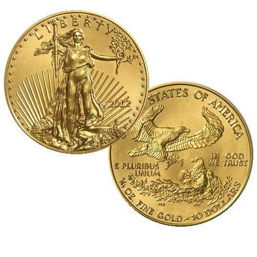 2012 1/4 Oz BU Gold American Eagle