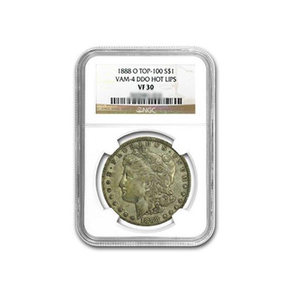 1888-O Morgan Dollar NGC VF-30 VAM-4 HOT LIPS Top-100