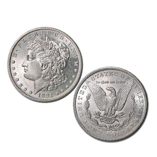 1881-S BU Morgan Silver Dollar