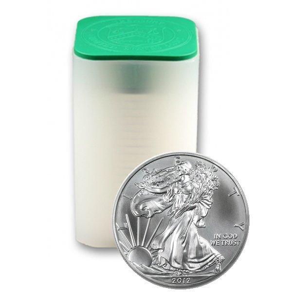 (20) 2012 BU Silver American Eagles