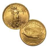 AU $20 St. Gaudens Gold Double Eagle - Random Date!
