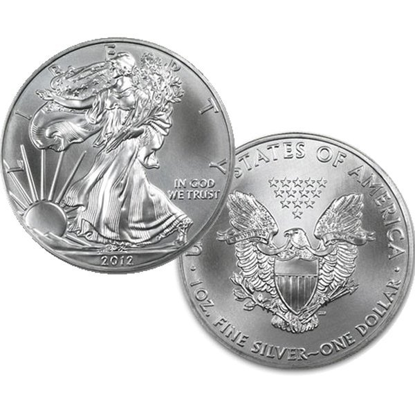$1 1 Oz Silver Eagle - Brilliant Uncirculated