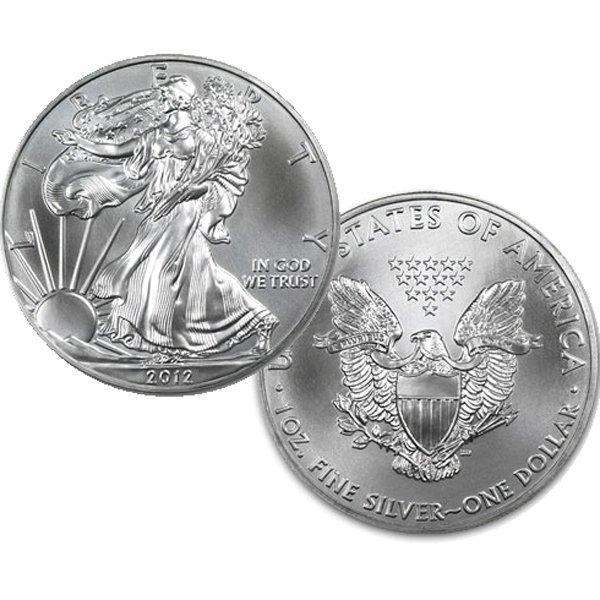 $1 1 Oz Silver Eagle - Brilliant Uncirculated