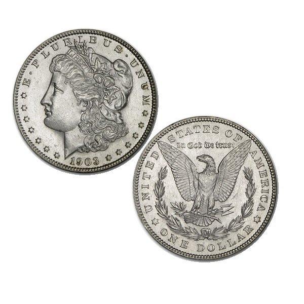 1903 BU Morgan Silver Dollar