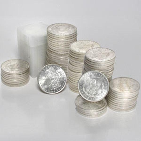 (200) Morgan Silver Dollars - Brilliant Uncirculated