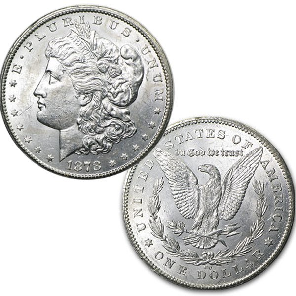 1878-CC $1 Morgan Dollar - Brilliant Uncirculated
