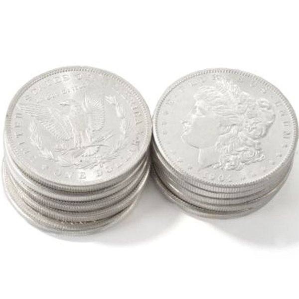 (10) Morgan Silver Dollars - Brilliant Uncirculated