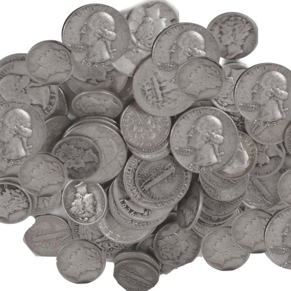$5 Face Value of 90% Silver Coins