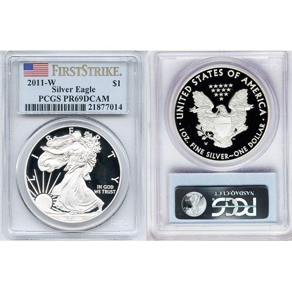 2011-W $1 Proof Silver Eagle FS PR69DCAM PCGS