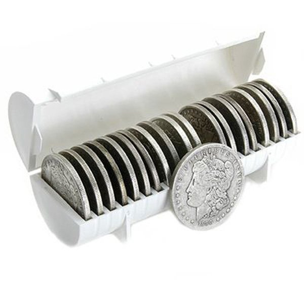 (10) Morgan Silver Dollars