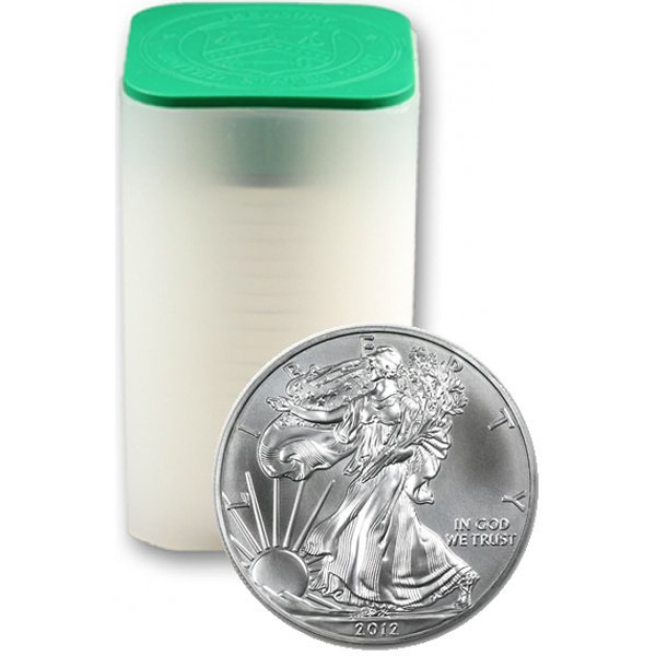 (20) 2012 Silver Eagles - Brilliant Uncirculated