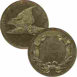 1858 Flying Eagle Cent - Very Good
