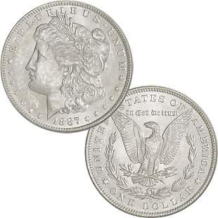 1887-O $1 Morgan Silver Dollar - Uncirculated