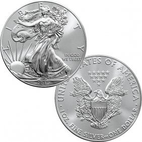 1 Oz Silver Eagle - Brilliant Uncirculated