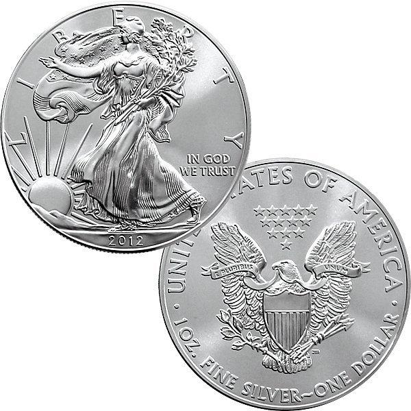 1 Oz Silver Eagle - Brilliant Uncirculated