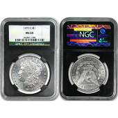 Morgan Dollar MS64 NGC 25th Ann - Random Date!