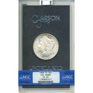 1880-CC GSA Morgan Dollar MS64 NGC