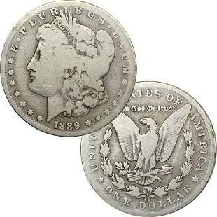 1889-CC $1 Morgan Dollar - Very Good