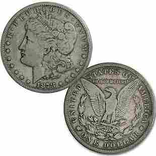 1878-CC $1 Morgan Dollar - Fine