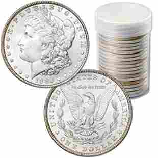 (20) Morgan Silver Dollars - Uncirculated
