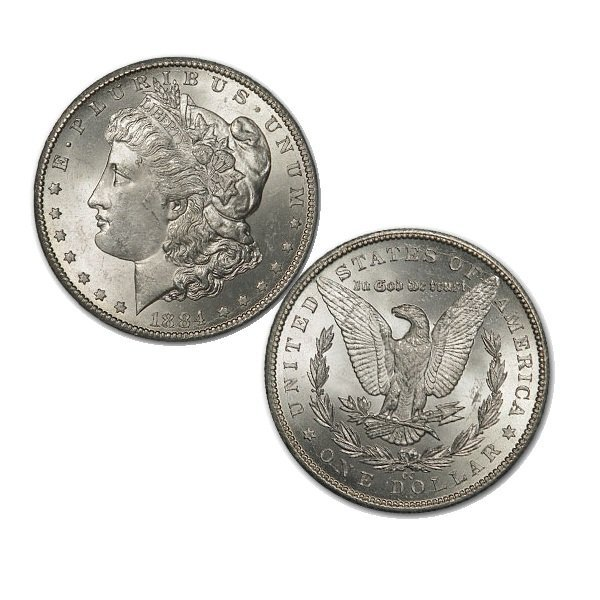 1884-CC $1 Morgan Dollar - Uncirculated