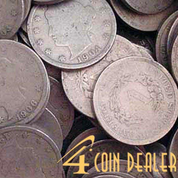 (5) 1883-1912 Liberty Head V Nickel - Circulated