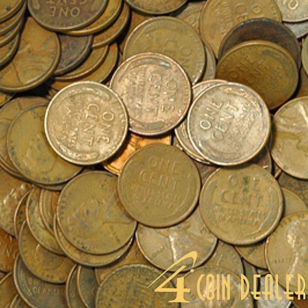 (200) 1909-1958 Lincoln Wheat Cents - Random Date!
