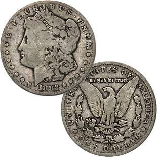 1882-CC $1 Morgan Dollar - Very Good