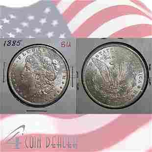 1885-O $1 Morgan Silver Dollar - Uncirculated