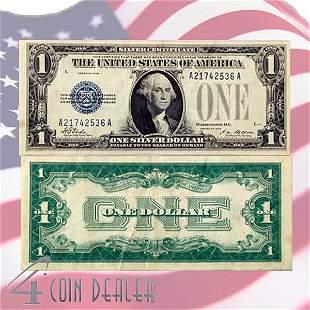 1928 $1 Bill - Silver Certificate - Very Fine