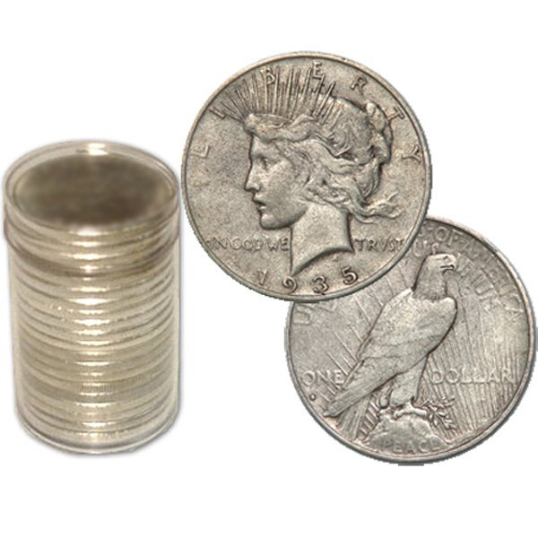 (20) Peace Silver Dollars