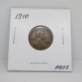 1910 Lincoln Wheat Cents #AB05