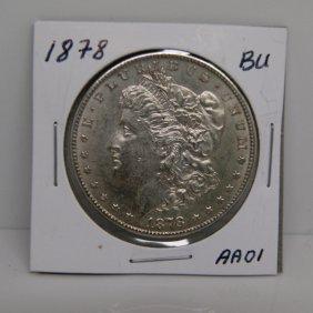 1878-S Morgan Dollar - Uncirculated #AA01