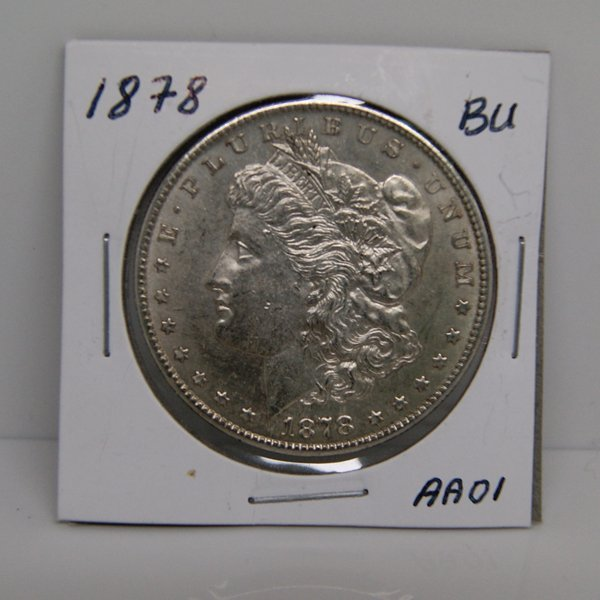 1878-S Morgan Dollar - Uncirculated #AA01