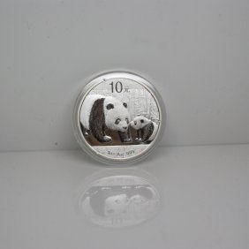 2011 1 Oz Silver Panda - Brilliant Uncirculated