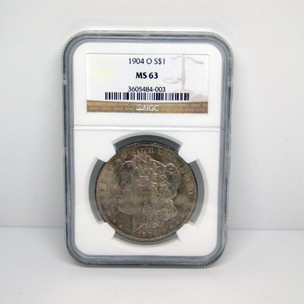 1904-O $1 Morgan Silver Dollar MS63 NGC